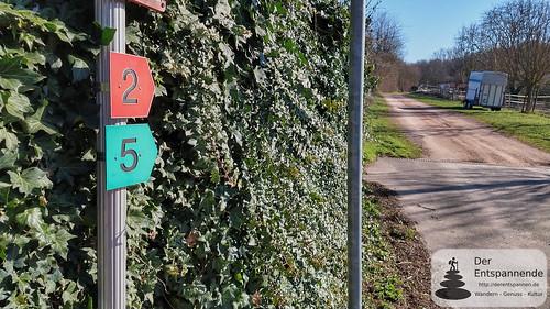 Schwabenheimer große Runde: Wegekennzeichnung