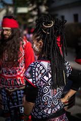 Young woman with braids at carnival (Ivan Radic) Tags: carnival hair costume braids youngwoman karneval haare kostüm verkleidung verkleidet jungefrau haarflechte canon50mmf14usm kostã¼m canoneosm50 focalreducer speedbooster viltroxefeosm2 prime evil mirrorless systemcamera systemkamera spiegellos cscilc austria österreich fasching mödling 2019 faschingsumzug ilc csc ivanradic