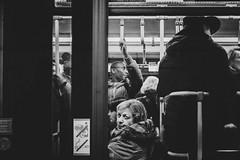 I see you (Zesk MF) Tags: bw black white mono street candid cologne subway ubahn travel commute passenger people human zesk x100f fuji urban iso5000 highiso streetlife streetphotography
