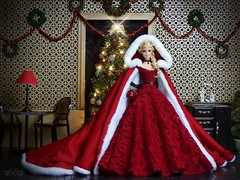 Mrs. Claus wishes you a Merry Christmas! (davidbocci.es/refugiorosa) Tags: barbie mattel fashion doll muñeca refugio rosa david bocci ooak mrs claus wishes merry christmas santa