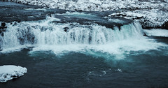 Faxi Waterfall (Tom_Edwards05) Tags: geo:lat=6422600209 geo:lon=2033843226 geotagged iceland waterfall water reykjavik nikon d5200 river ice snow snowfall frozen cold faxi december 2018 travel