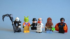 Various DCitizens (th_squirrel) Tags: lego dc comics nekron lantern black death ambush bug scarface ventriloquist scarecrow superman eradicator minifig minifigure minifigs minifigures