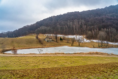 Winter landscape at Crezzo, Italy (clodio61) Tags: crezzo europe february italy lecco lombardy cold color conca country day green house ice isolated landscape lonely mountain nature outdoor photography plant scenic snow tree winter