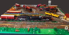 Turntable (narrow_gauge) Tags: brickvention2019 brickvention turntable lego train mltc railway victorianrailways trains