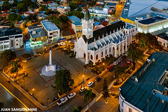 Catedral San Pedro Apostol (juan.sangiovanni) Tags: macoris san pedro catedral apostol dominicana iglesia drone dji mavic