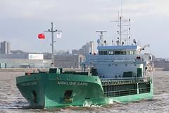 Arklow Cape (Das Boot 160) Tags: arklowcape generalcargo ships sea ship river rivermersey port docks docking dock boat boats maritime mersey merseyshipping