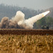 Marines launch a missile from an M142 High Mobility Artillery Rocket  System during Cobra Gold