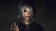 72850_20190215180057_1 (SasakiPajero) Tags: videogame v vampire tesv screenshot skyrim scrolls snapdragonprimeenb shorthair tes face enb elder eyes 3d girl