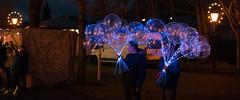 Illuminating balloon (gerhardschorsch) Tags: sony zeiss za weihnachtsmarkt christmas market f18 55mm fe55mm fe55mmf18za vollformat nightshot nachtaufnahme leuchtballon ledballon festbrennweite ilce7r a7r available availablelight panorama illuminatingballoon