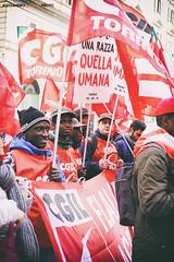 DSCF7204 (Alessandro Gaziano) Tags: alessandrogaziano foto fotografia manifestazione visioni italia roma people gente colori colors diritti italy reportage