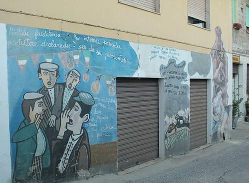 #murales 🎨 #cantudesupastore 🐑 #cantoatenore #tenores #poesia #rime #cantocorale #nuraghe #pastorisardi 🐏 #popolare #folk 🍂 #supramonte 🎥#elettritv💻 #proteste #pastori #pecore 🐐 #enogastronimia #webtv :