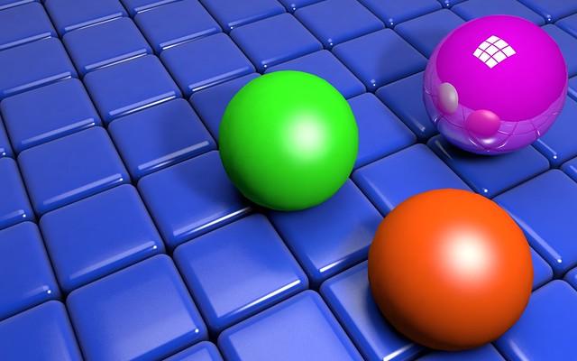 Обои шары, кубы, структура картинки на рабочий стол, фото скачать бесплатно