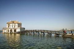 Casina Vanvitelliana (MarinoLandolfo) Tags: lago ponte casa villa antico bellezza napoli turismo baia bacoli pozzuoli cielo verde azzurro
