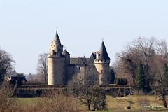 87 Coussac-Bonneval - Bonneval (Herve_R 03) Tags: france architecture château castle limousin hautevienne