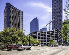 609 Main at Texas Building - Milam at Preston 3 (Mabry Campbell) Tags: 609mainattexas harriscounty hines houston pickardchilton texas usa architecture building downtown image photo photograph f71 mabrycampbell march 2019 march272019 20190327609campbellh6a6543pano 24mm ¹⁄₂₀₀sec 100 tse24mmf35lii
