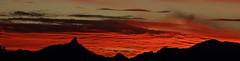 Sunset 1 16 19 #27 Panorama (Az Skies Photography) Tags: sun sky skyline skyscape rio rico arizona az riorico rioricoaz arizonasky arizonaskyline arizonaskyscape cloud clouds red orange gold salmon black january 16 2019 january162019 11619 1162019 canon eos 80d canoneos80d eos80d canon80d set sunset dusk twilight nightfall arizonasunset panorama