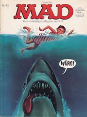 MAD #83 (micky the pixel) Tags: comics comic heft magazin satire humor bsv williamsverlag mad alfredeneumann derweisehai jaws hai shark