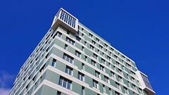 Construcción Geométrica (chuma23m) Tags: edificio cielo geometrico