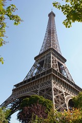 Eiffel Tower less obvious view point (markyhmac) Tags: view paris eiffel tower city summer