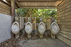 Jungle Outhouse (Fragments of Yesteryear (LvS)) Tags: urbex urbanexploring haikyo abandoned abandonedplaces abandonedworld lost fragmentsofyesteryear urbexphotography urbanexploration forgotten verlaten verlassen verval derelict decay deserted derp desolate decayed urbandecay lostplaces lostworld taiwan themepark toilet urinoir d7200 nikon nikonnl ngc atlasobscura jungle whennaturestrikesback whennaturetakesover exploring explorer travel nature old photography photographer traveller inexplore explore worldexplorer