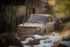 Abandoned car (the_bestiole) Tags: urbex exlporation urbaine urban decay abandoned lost place friche forgotten old lieux oubliés desaffecté abandonné ancien