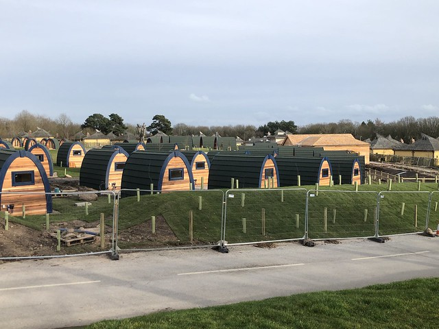 Stargazing Pods Construction