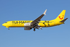 Boeing 737-8K5(WL) - D-ATUG - HAJ - 27.02.2019 (Matthias Schichta) Tags: haj hannoverlangenhagen eddv planespotting flugzeugbilder flugzeug boeing 737800 tuifly datug