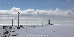 Port Maitland Ontario 2019 (John Hoadley) Tags: winter portmaitland ontario 2019 february canon 7dmarkii 100400ii f10 iso100lighthouse pier lampposts