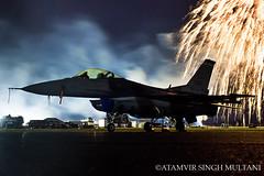 Wicked Falcon! (FoxbatOne) Tags: f16 fighting falcon fighter jet colorado airnationalguard ang lockheedmartin cyxx abbotsford night photography viper