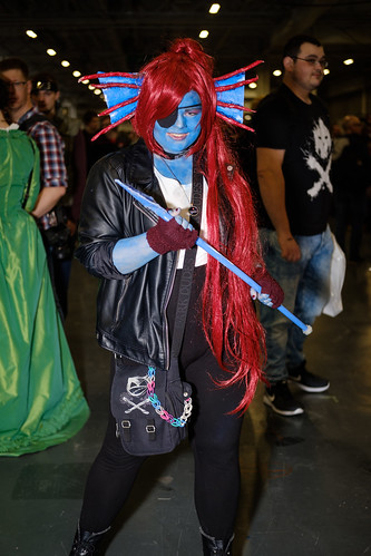 UnDyne the Undying Fish - UnderTale
