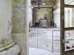 Hydropowerplant (soho42) Tags: mamiya645protl fujireala100 abandoned industry decay hydropowerplant forgotten urbanexploration urbex