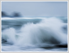 Drama at Lamora (adam_pierz) Tags: cornwall lamora sea storm water blue waves icm micro43 microfourthirds olympusomd