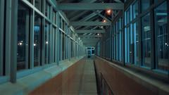 Ravenswood Station (Jovan Jimenez) Tags: canon eos rebel t2 tokina 1116mm f28 cinestill 800t kodak vision3 tungsten film ravenswood station train interior 300x kiss7 lines