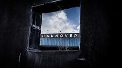 Hannover framed (blende9komma6) Tags: hannover nordstadt 30167 germany ricoh gr griii framed gerahmt urban city bahnhof letters himmel heaven wolken rahmen frame cloud