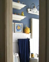 a slice of life (muffett68 ☺ heidi ☺) Tags: doorway bathroom duckies