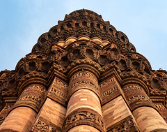 Qutub Minar (Anthony Warmuth) Tags: delhi india qutubminar