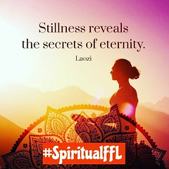 Stillness reveals the secrets of eternity. #Laozi #SpiritualFFL (SpiritualFFL) Tags: spiritualffl laozi