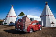 VW Camper (Brad Prudhon) Tags: 2018 holbrook october oldroute66 wigwanvillage wigwammotel vw camper arizona