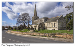 St Peters and St Paul's, Drax Village (Paul Simpson Photography) Tags: church drax northyorkshire villagechurch march2019 road paulsimpsonphotography imagesof imageof religion religious history historic englishchurches old stonebuilding photoof photosof graves trees spring sunshine churchphotography photosofchurches europeanchurches england uk britishhistory churchspire churchsteeple churchtower
