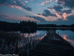 Sonnenuntergang Törn 042019 09 (U. Heinze) Tags: schweden sverige sweden blekinge olympus penf 1240mm wasser see sonnenuntergang sky himmel