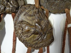 1312 - 'seal of Floris Berthout, Heer van Mechelen, Charter of Kortenberg', Stadsarchief, Leuven, province of Flemish Brabant, Belgium (roelipilami (Roel Renmans)) Tags: 1312 charter kortenberg charta seal sceau zegel siegel floris florent berthout heer lord seigneur herr mechelen mechlin malines 1331 knight ritter chevalier ridder caballero sello chain mantle helm great heaume topfhelm crest zimier cimier shutter or pales gules heraldry hauberk caparison saddle girth ailettes sword gran yelmo surcotte wappenrock surcoat wapenkleed paard berthoud shield ecu leuven brabant louvain city archives epee schwert zwaard dekkleed mail chausses armour armor kettenhemd cotte mailles maliënkolder helmteken kuiphelm