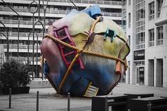 Houseball (Lens Daemmi) Tags: houseball skulptur berlin sculpture