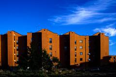 tiburtino terzo, case popolari (duegnazio) Tags: italia lazio roma canon350d tiburtinoterzo edifici building casepopolari cielo sky italy rome