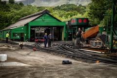 Cog Railway (Trevor Bowling) Tags: wales cog railway snowdonia snowdon track rails loco shed engine llanberis