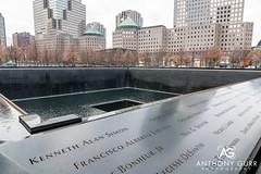 9/11 Memorial, New York City, USA (AnthonyGurr) Tags: newyork newyorkcity nyc thebigapple america usa unitedstates 911 september112001 memorial anthonygurr manhattan city