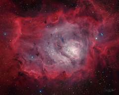 M8 - Lagoon Nebula (Abel de Burgos) Tags: astrophotography sky universe cosmos night telescope deepsky atik avalon ts130 awesome picture nebula planetary astronomy cielo