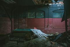 Roof Leak (IAmTheSoundman) Tags: jake barshick sony a99 m42 takumar manualfocus cleveland ohio urbanexploring urbex abandoned
