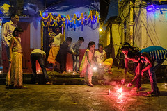Festival Lights (SaumalyaGhosh.com) Tags: people light festival india color colors mood together kolkata westbengal photography street documentation documentry fuji fujifilm xt2 group night