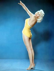 Jayne Mansfield (poedie1984) Tags: jayne mansfield vera palmer blonde old hollywood bombshell vintage babe pin up actress beautiful model beauty hot girl woman classic sex symbol movie movies star glamour girls icon sexy cute body bomb 50s 60s famous film kino celebrities pink rose filmstar filmster diva superstar amazing wonderful photo american love goddess mannequin black white mooi tribute blond sweater cine cinema screen gorgeous legendary iconic badpak swimsuit boobs legs yellow geel oorbellen earrings color colors shoes schoenen