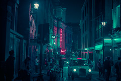 11,521 (Panda1339) Tags: thegreat50mmproject 50mm nightphotography soho ldn streetphotography windmill cinematic uk london